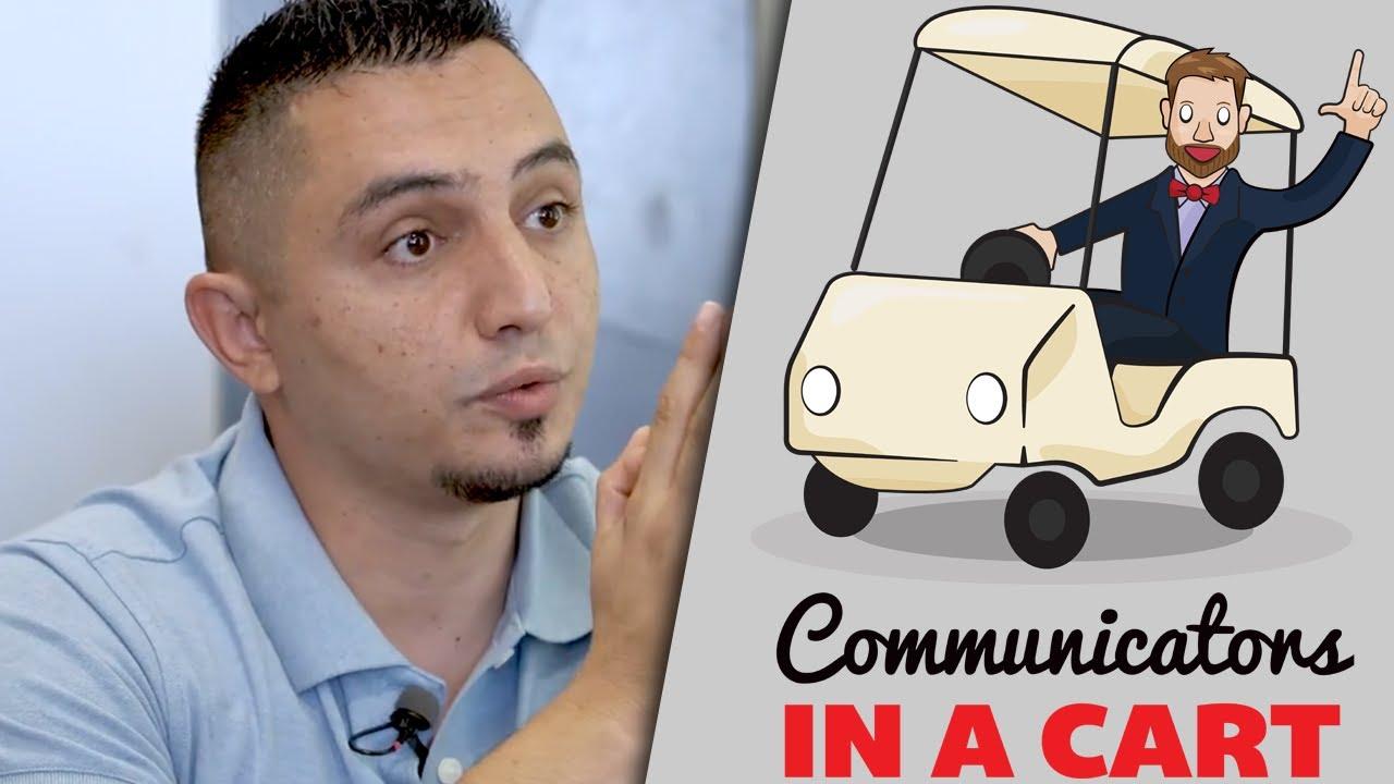 Hasan Almekdash | Communicators in a Cart