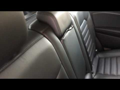 HOW TO FOLD DOWN REAR SEATS IN FORD EDGE