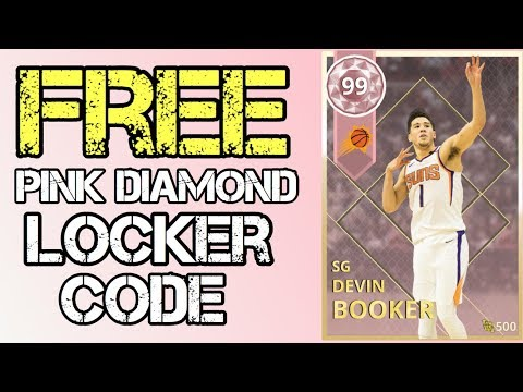 NBA 2K18 MyTEAM  Free Pink Diamond Devin Booker Locker Code