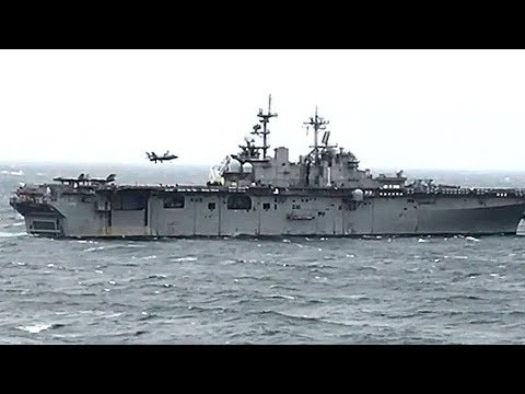 EAST CHINA SEA, March 5, 2018 – Historic F-35B VERTICAL LANDING VIDEO (extra footage)!