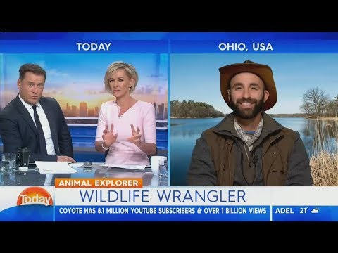 Coyote Peterson - Karl Stefanovic