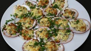 Как приготовить морские гребешки(В этом видео я расскажу, как быстро и просто приготовить морские гребешки с сыром. Это очень популярное..., 2014-08-10T15:56:01.000Z)