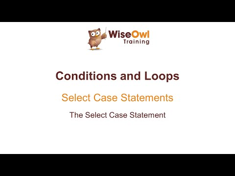 Excel VBA Online Course - 3.3.1 The Select Case Statement