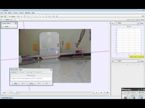 Tracker Video Analysis - Basic How To on Autotracking