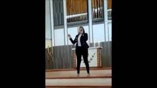 Jeanette Coron - Performing 'Amazing Grace ' in Church (Live)