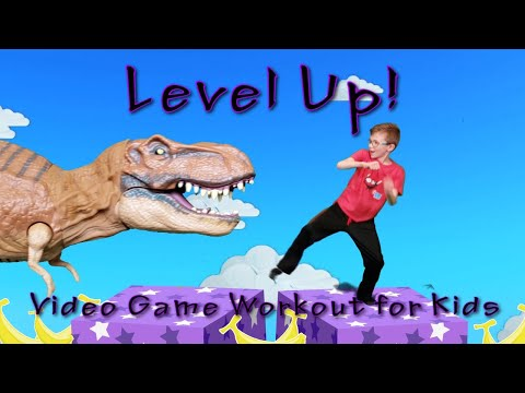 Level Up! (Video Game Workout for Kids)