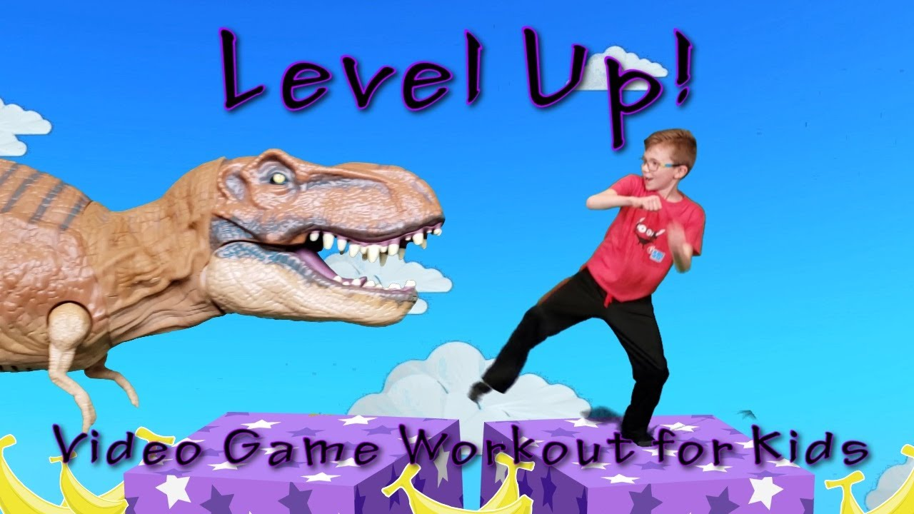 Download Level Up! (Video Game Workout For Kids)