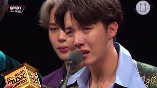 Türkçe Altyazılı BTS - MAMA Artist of the Year Award Daesang Konuşması in Hong Kong 2018