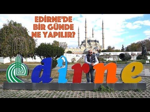 Edirne'de Bir Günde Neler Yapılır? Selimiye Camii'nin Minaresine Çıktık