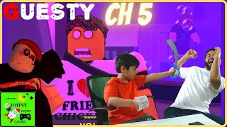 Johny Shows Roblox Guesty Chapter 5 The Factory
