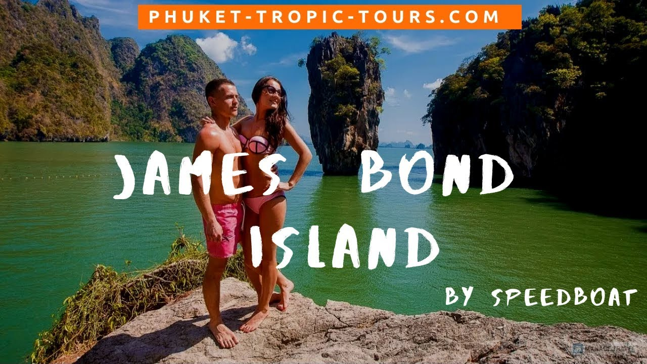 James Bond Island tour by Speedboat, video overview: