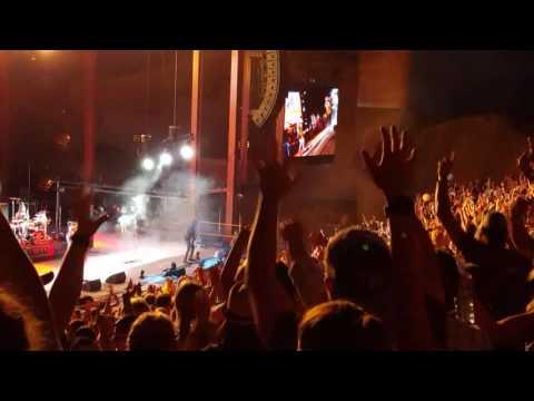 Michael Franti - Hey Hey Hey (beginning of show) - Red Rocks July 13 2017
