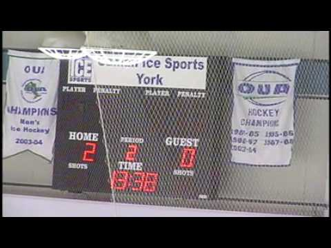 York University Lions vs Nipissing University Lakers - October 12th 2013
