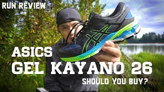 ASICS GEL KAYANO 26 REVIEW