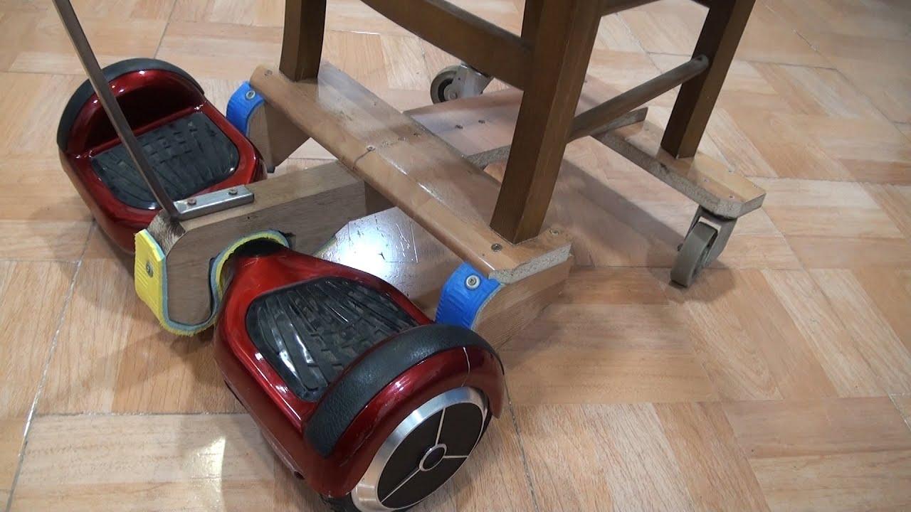 Scooter el ctrico convertido en silla youtube - Silla de patin electrico ...