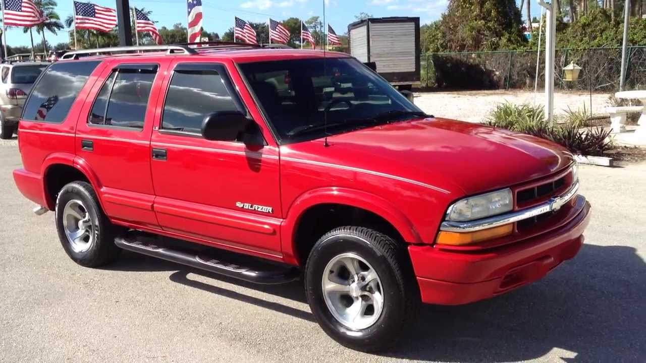 medium resolution of 2003 chevy blazer ls view our current inventory at fortmyerswa com youtube