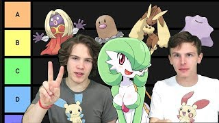 Hottest Pokemon Tier List with iDubbbzTV