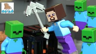 Майнкрафт Мультик Minecraft Зомби Апокалипсис Lego 21119 Майнкрафт и Зомби. Лего Майнкрафт