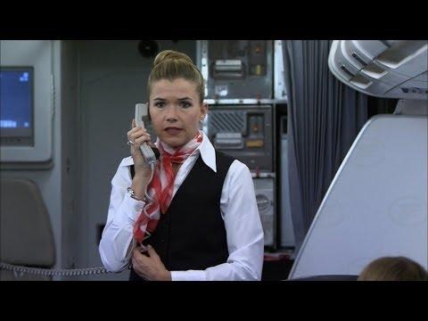 Notfall im Flugzeug - Ladykracher