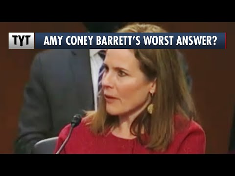 Amy Coney Barrett FUMBLES Easy Question During Confirmation Hearing