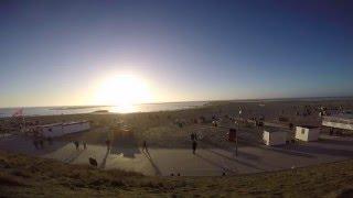 Borkum GoPro Zeitraffer-Sonnenuntergang/Fähre