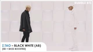 [3D+BASS BOOSTED] Z.TAO - BLACK WHITE (AB) | bumble.bts