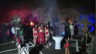 Misa negra en Catemaco Veracruz 2013