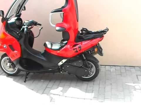 bmw c1 125 200 cc scooter doovi. Black Bedroom Furniture Sets. Home Design Ideas