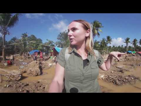 Mines in the Philippines are deadly mud traps. 360 video