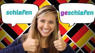 The Easy German Past Participle with ge- Verbstamm -en