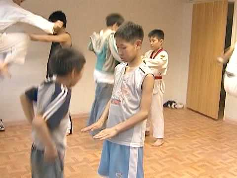 Teaching Tae Kwon Do is the Secondary Project for a Peace Corps Health Volunteer in Mongolia