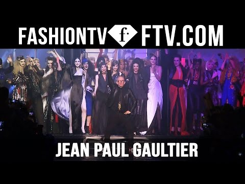 Jean Paul Gaultier at Paris Haute Couture Week SS 16 | FashionTV