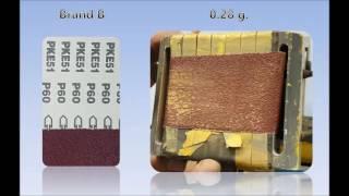 Norton H231 sanding sheet comparison