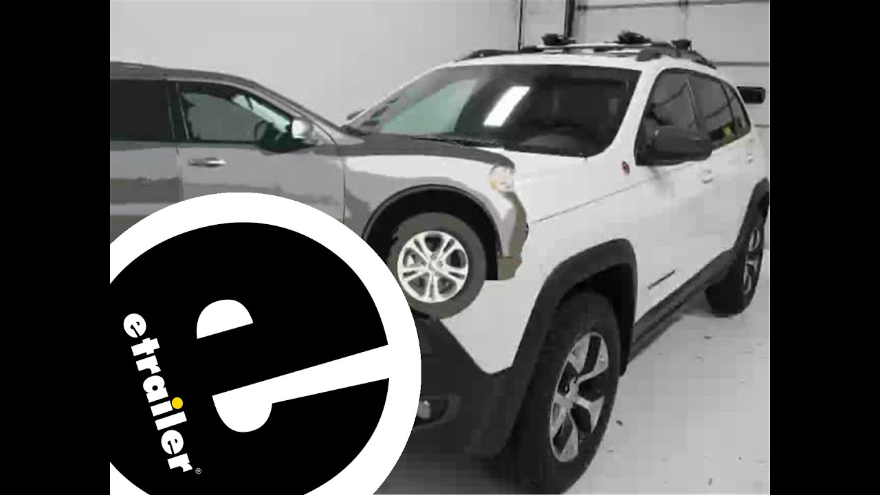 hight resolution of installation of a trailer hitch on a 2014 jeep cherokee etrailer com