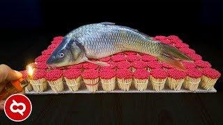 Download lagu Bakar Ikan Pakai Korek Api, Hasilnya Mengejutkan! 10 Eksperimen Unik Menggunakan Batang Korek Api