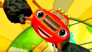 Вспыш и Чудо Машинки Blaze все серии подряд игр мультфильма Вспыш машинки  Blaze ChildrenTV