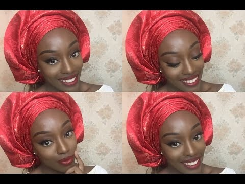 Easy Tutorial | How To Tie Your Own Sego Headtie 'Gele' With Perfect Pleats