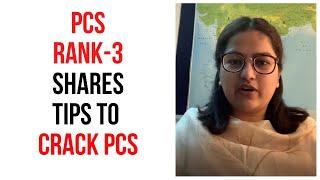 Parleen Kaleka, Rank 3, PCS 2018 - Sharing some inputs