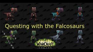 Falcosaur Hatchlings Leveling Tips | World of Warcraft Legion
