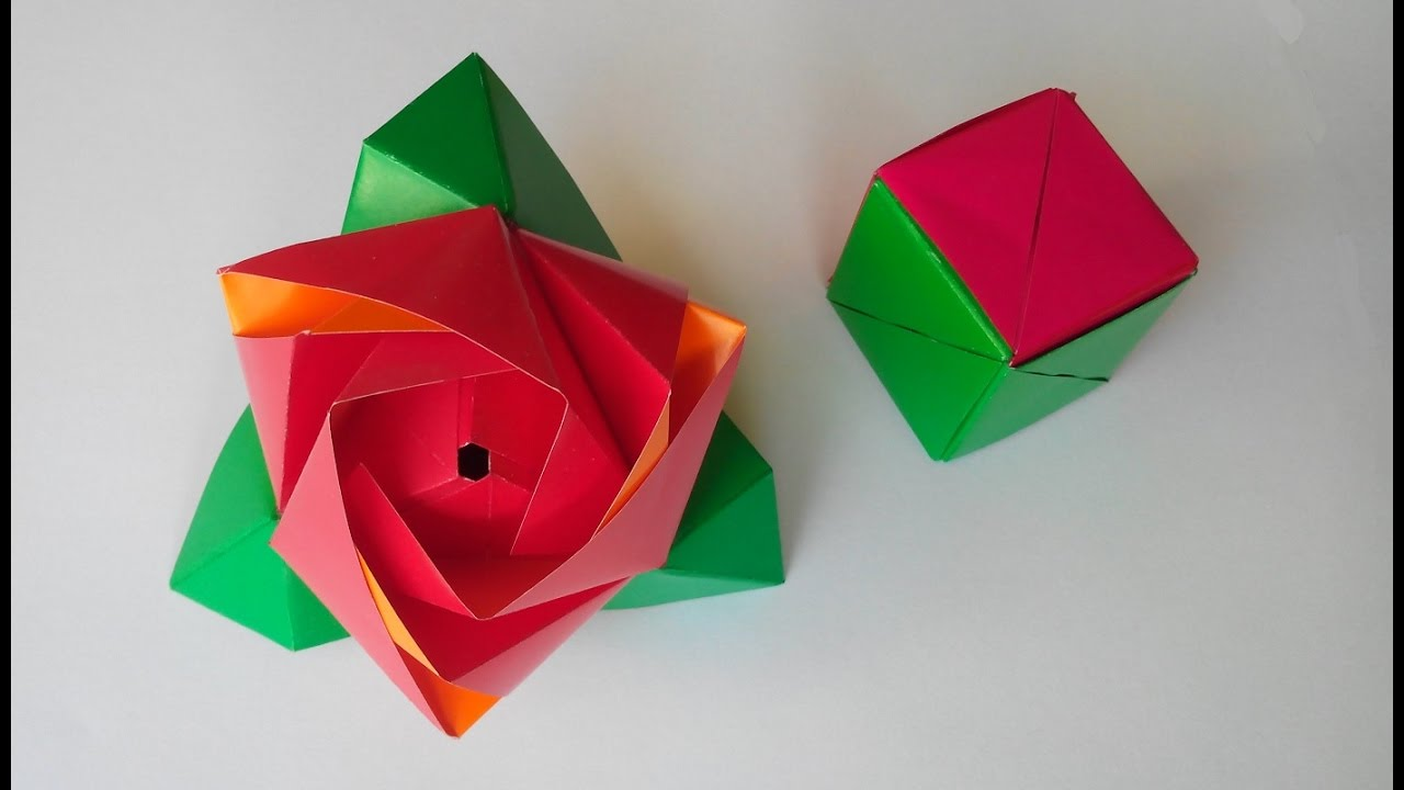 DIY Paper Calavera  Skull Origami Tutorial  Halloween Crafts