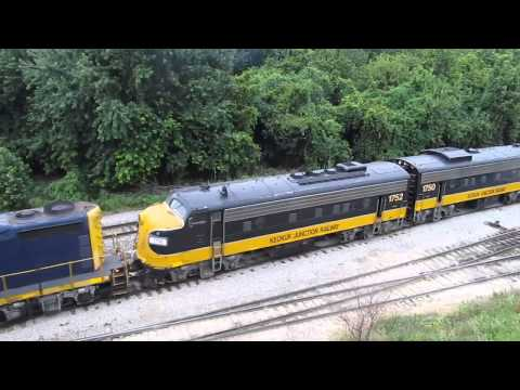 Keokuk Junction Rwy Pipe Train (Part 3) - Aug. 2, 2015