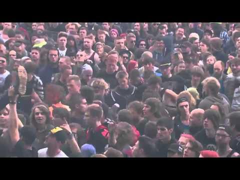 Asking Alexandria -Run Free (New Singer) Live at Graspop Metal Meeting 2015