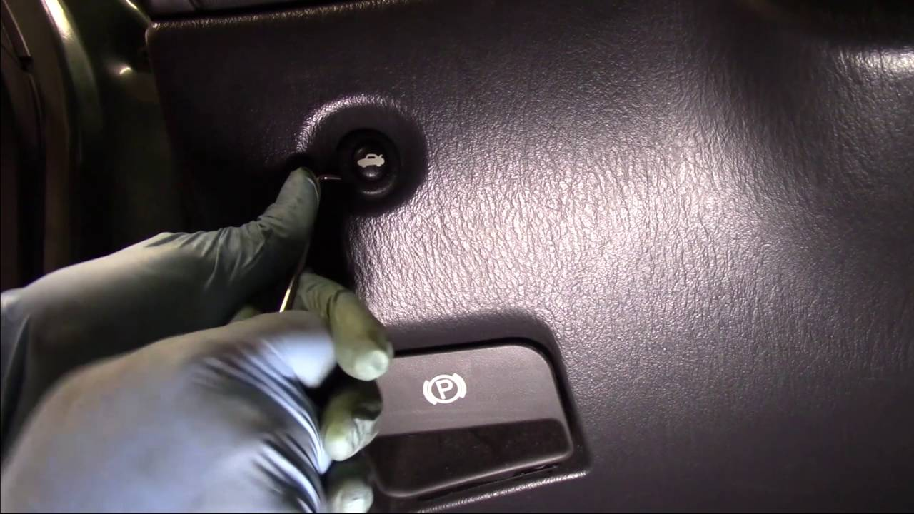 trunk release switch installation dodge chrysler