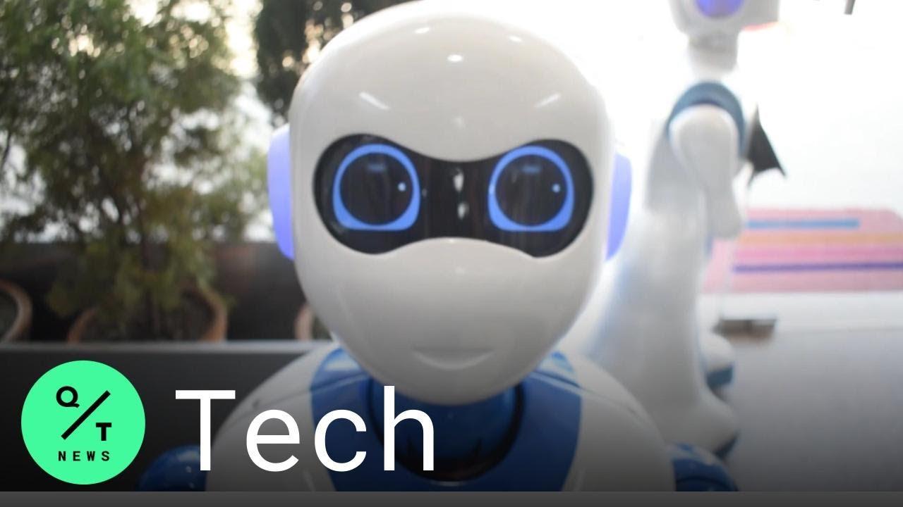 Coronavirus: Tech Company Repurposes Robots to Fight a Pandemic
