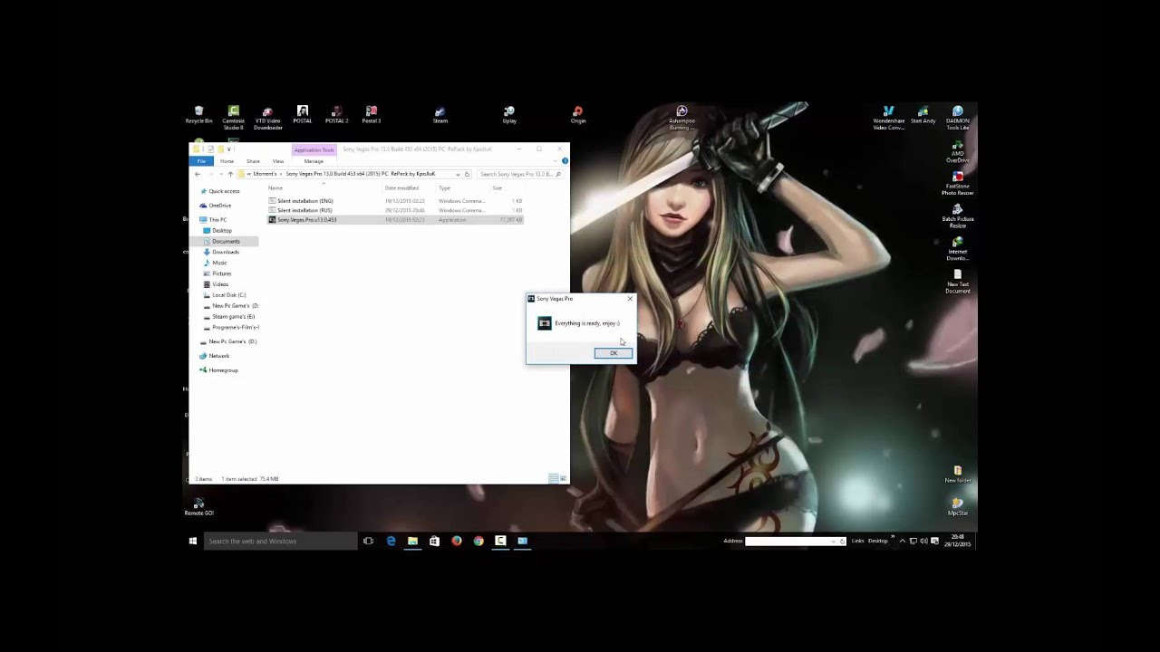 sony vegas free download utorrent