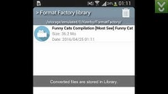 Format Factory - Convert media files on Android - Download Video Previews