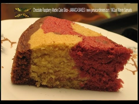 MARBLE CAKE RASPBERRY CHOCOLATE