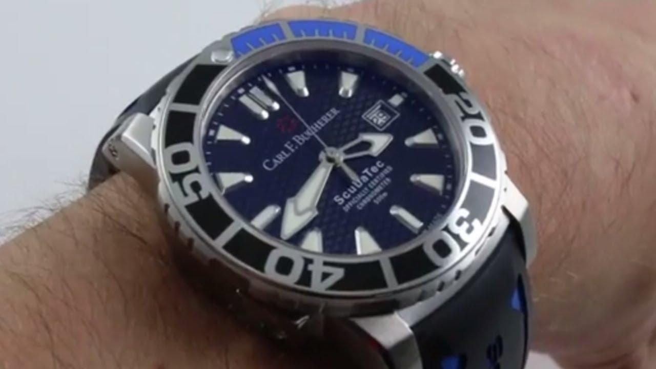 08064a1b393 Carl F. Bucherer Patravi Scubatec 00.10632.23.33.01 Luxury Watch Review