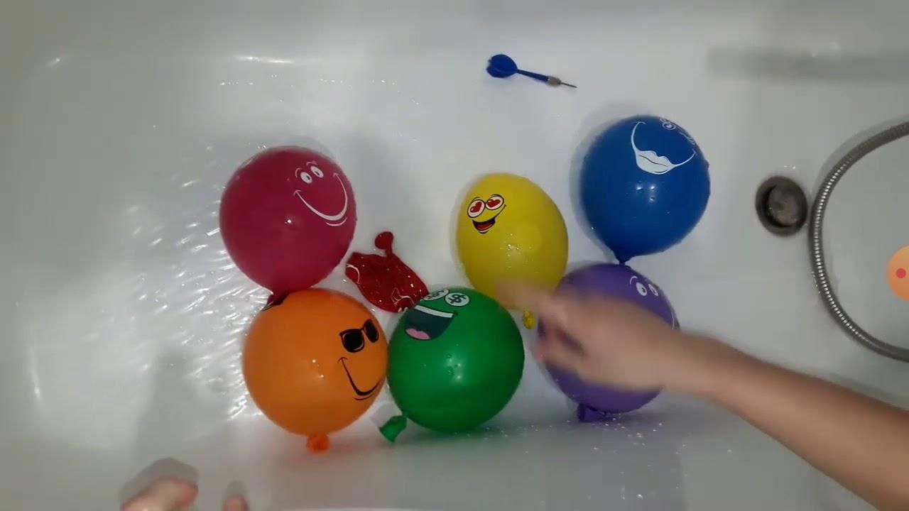 Воздушные шарики Учим цвета Развивающее видео Для детей ...