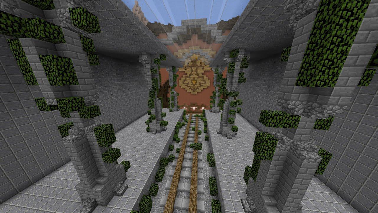 Minecraft Build Battle - Trainstation | Again This Theme ...